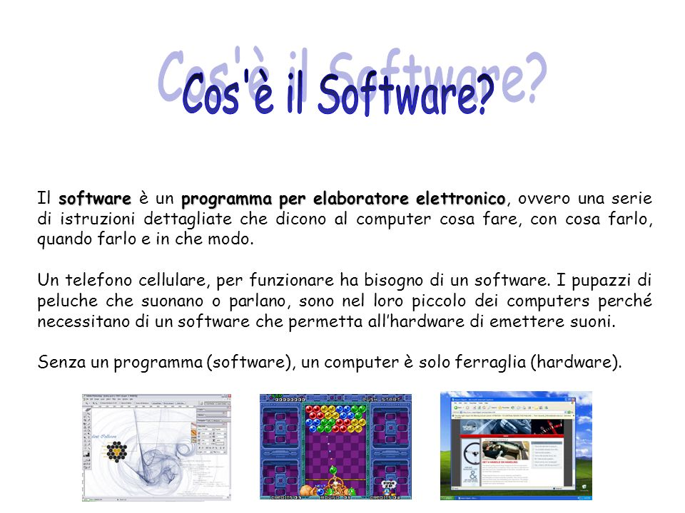 Cos è il Software