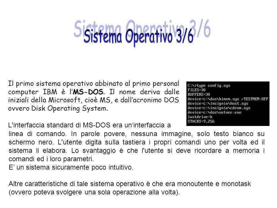 Sistema Operativo 3/6