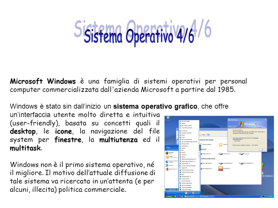 Sistema Operativo 4/6