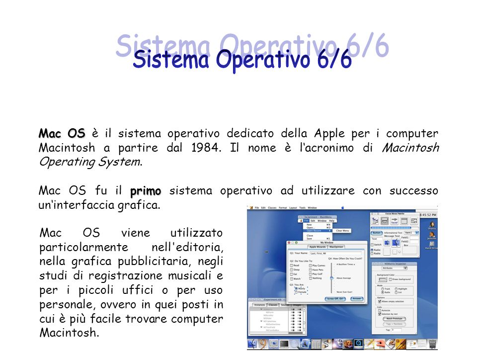 Sistema Operativo 6/6