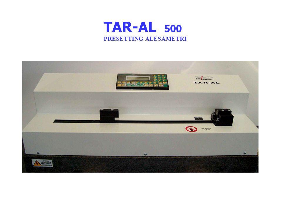 TAR-AL 500 PRESETTING ALESAMETRI