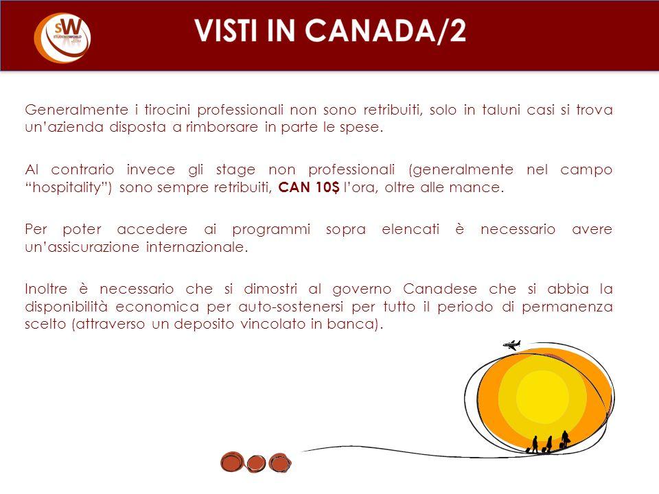 VISTI IN CANADA/2