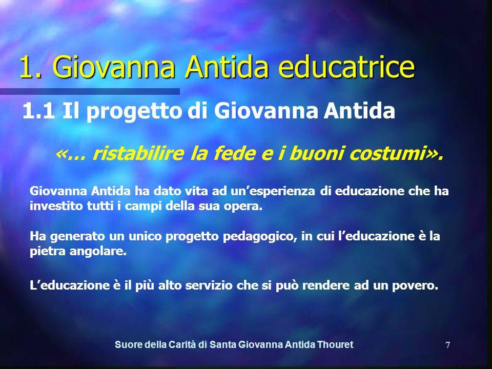 1. Giovanna Antida educatrice
