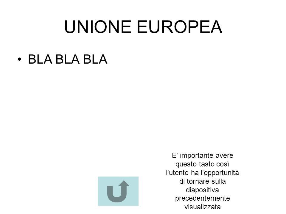 UNIONE EUROPEA BLA BLA BLA
