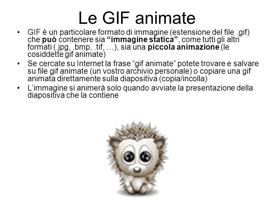 Le GIF animate