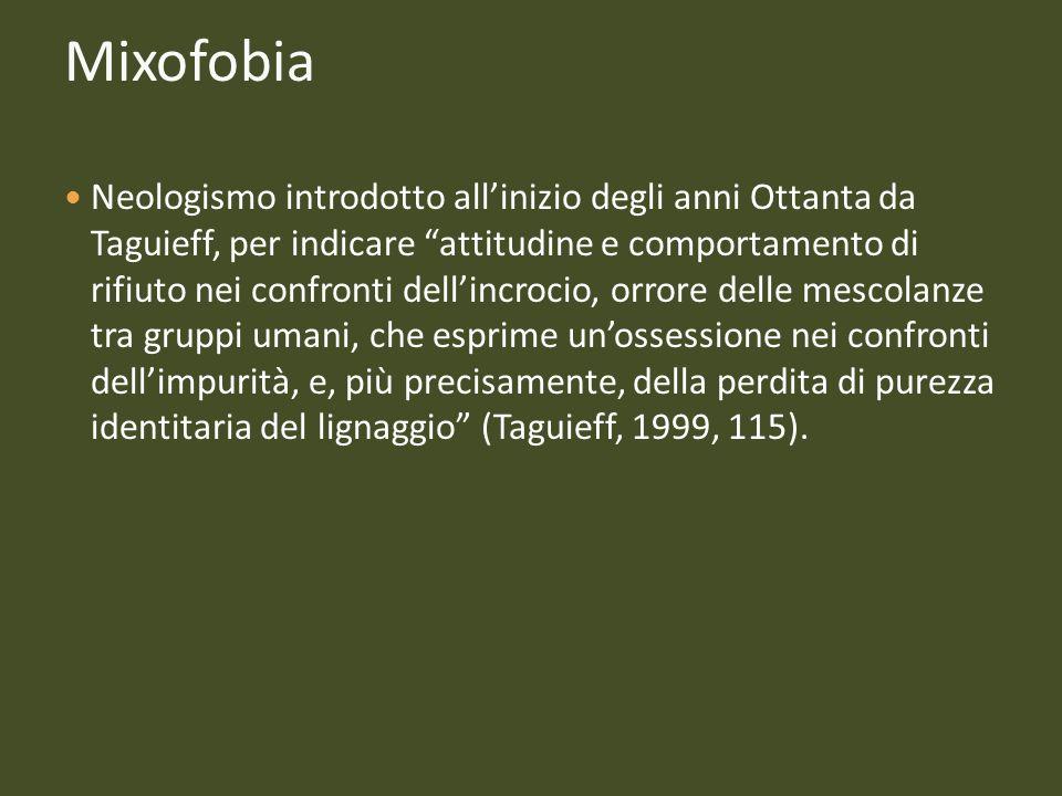 Mixofobia