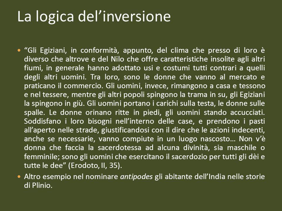 La logica del'inversione