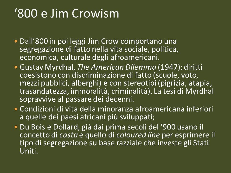 '800 e Jim Crowism