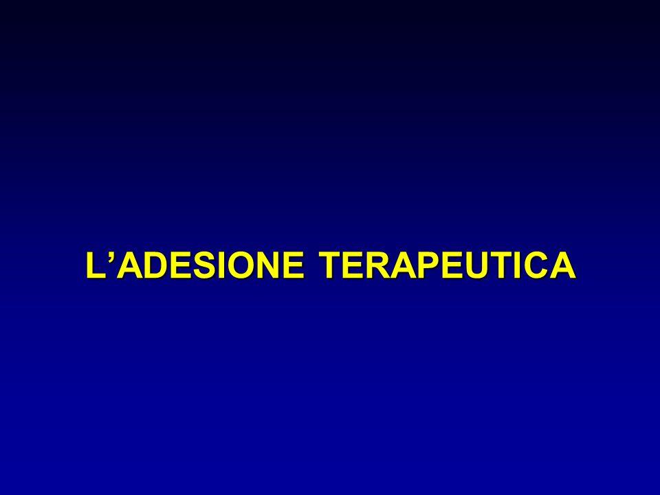 L'ADESIONE TERAPEUTICA
