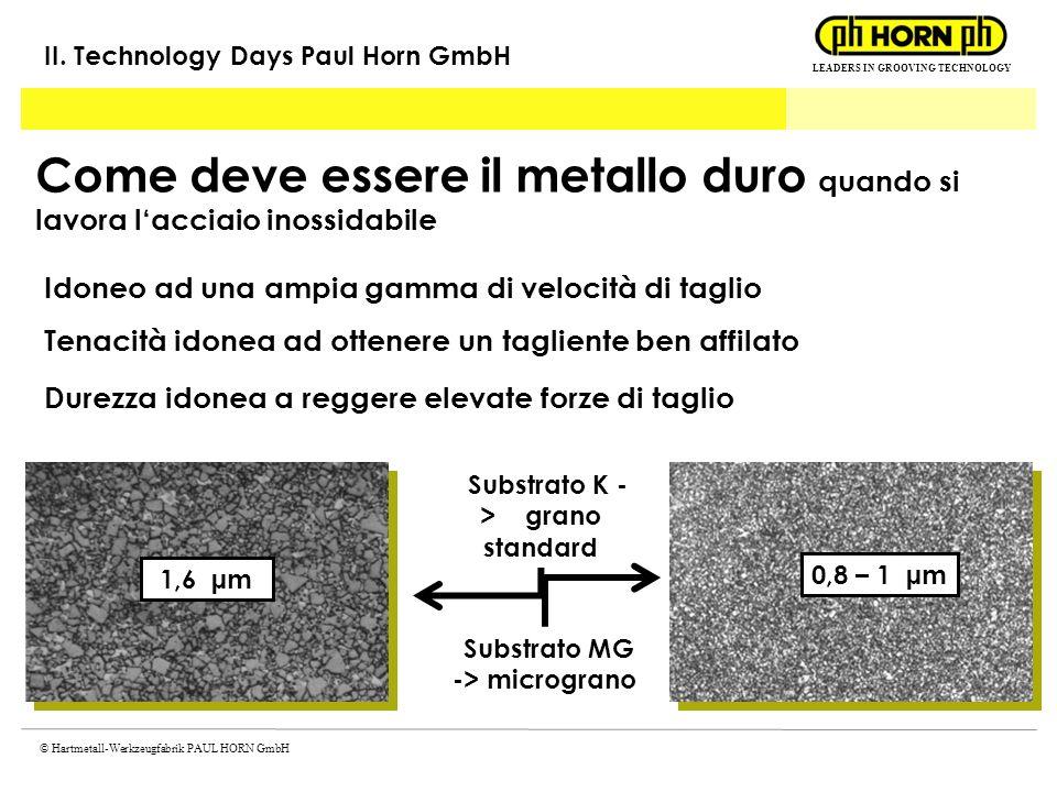 Substrato K -> grano standard Substrato MG -> micrograno