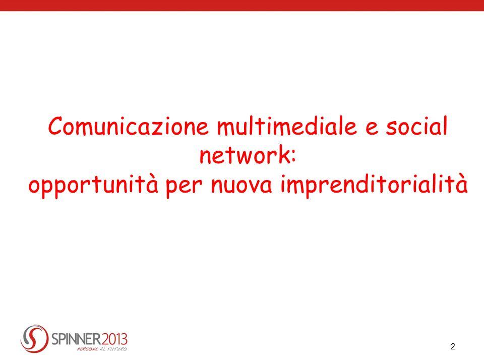Comunicazione multimediale e social network: