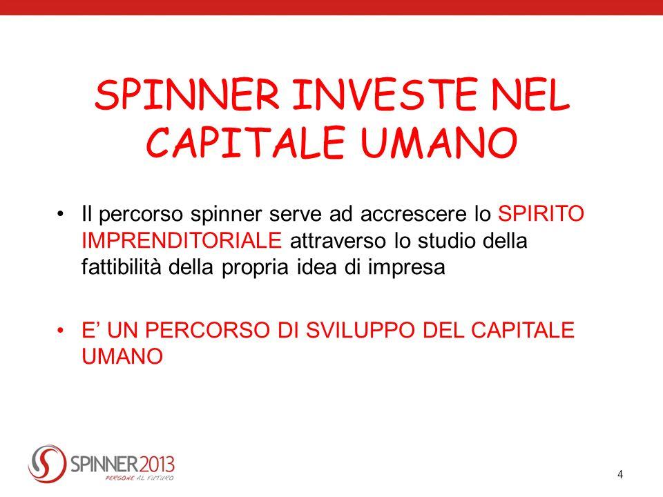 SPINNER INVESTE NEL CAPITALE UMANO