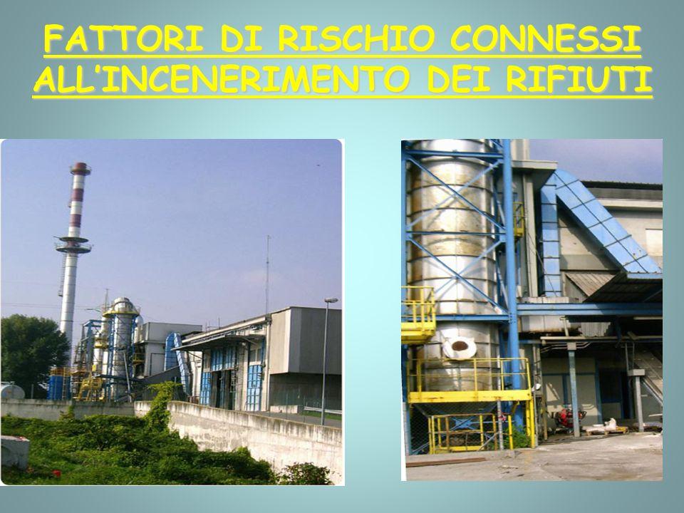 FATTORI DI RISCHIO CONNESSI ALL'INCENERIMENTO DEI RIFIUTI