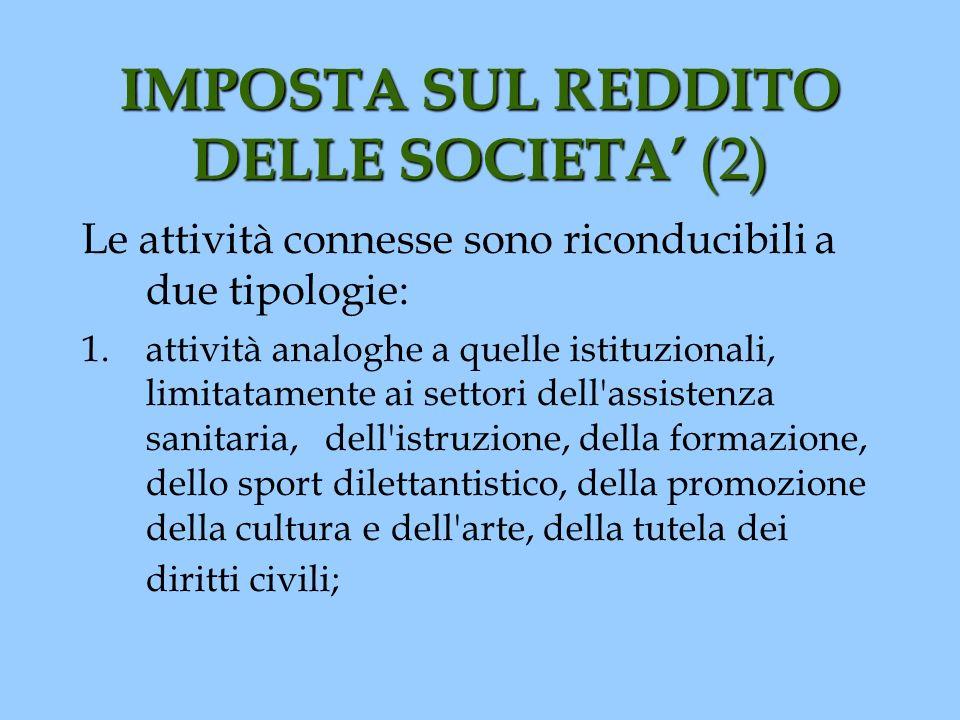IMPOSTA SUL REDDITO DELLE SOCIETA' (2)