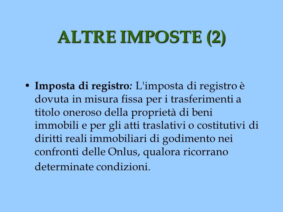 ALTRE IMPOSTE (2)