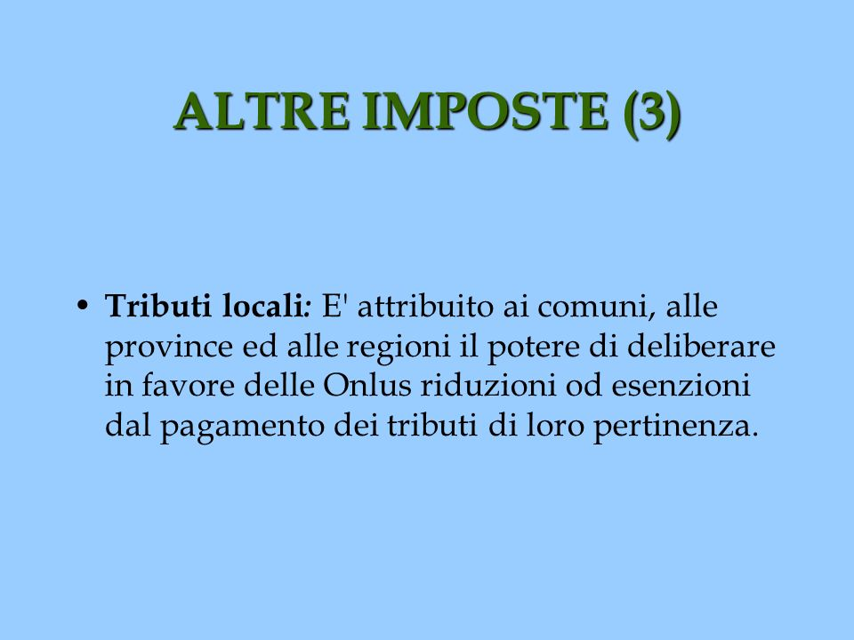 ALTRE IMPOSTE (3)