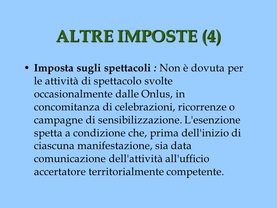 ALTRE IMPOSTE (4)