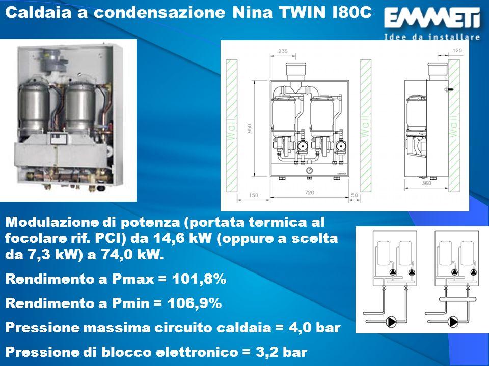 Caldaia a condensazione Nina TWIN I80C