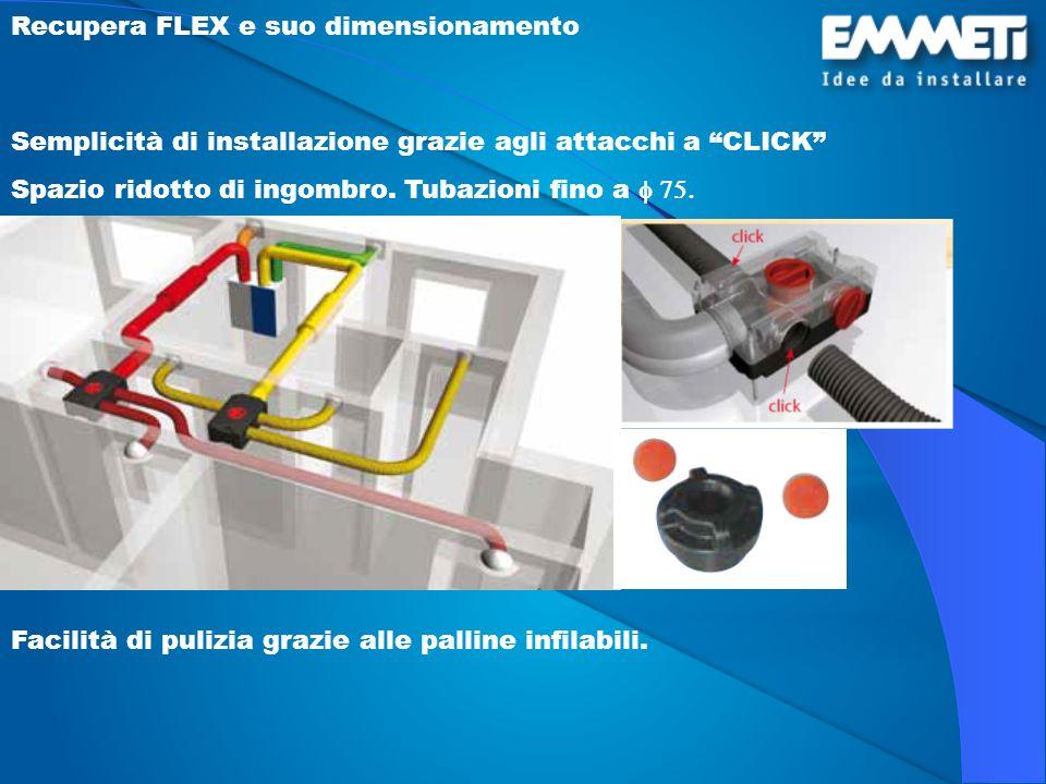 Recupera FLEX e suo dimensionamento