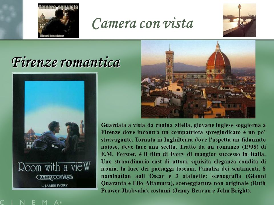 Camera con vista Firenze romantica