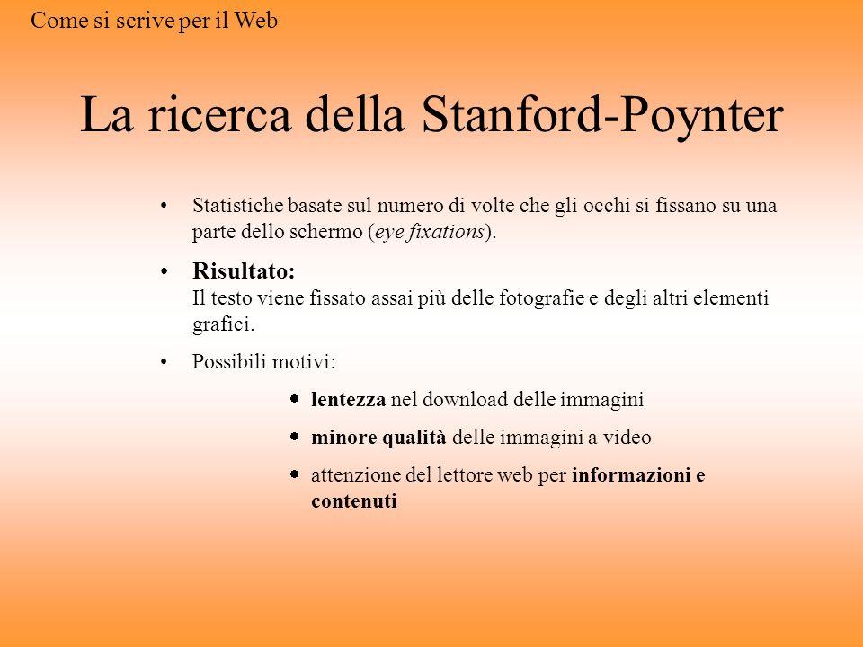 La ricerca della Stanford-Poynter