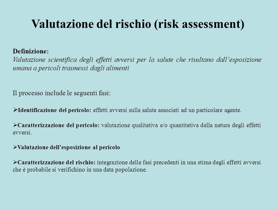 Valutazione del rischio (risk assessment)