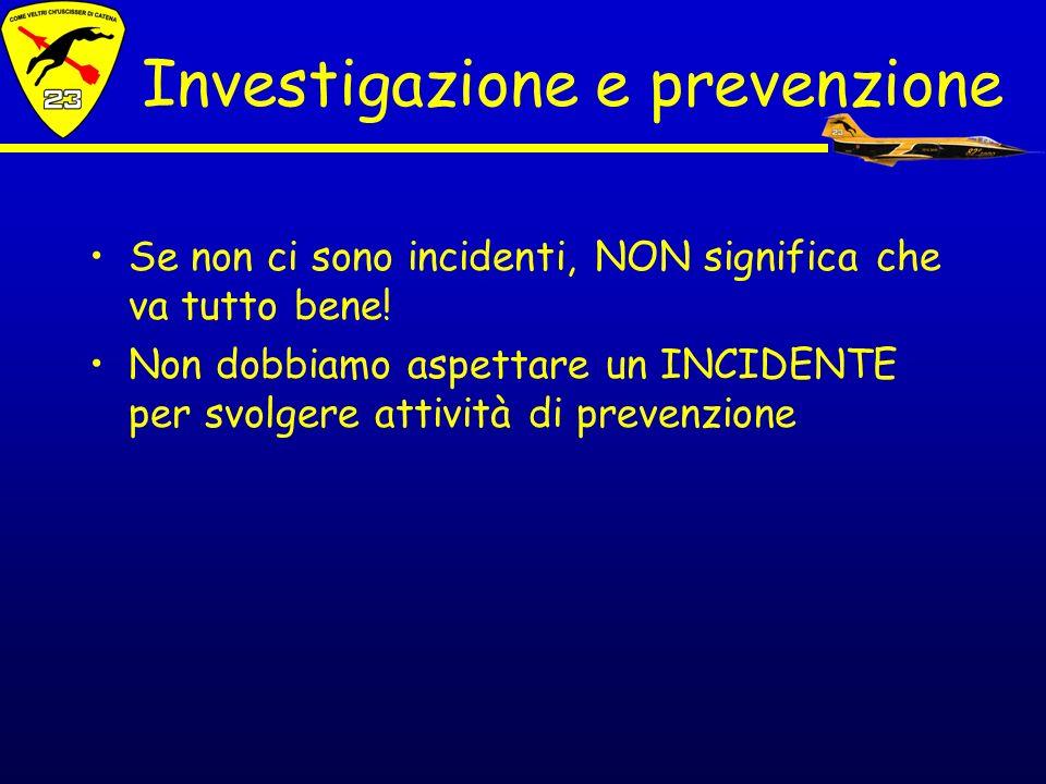 Investigazione e prevenzione