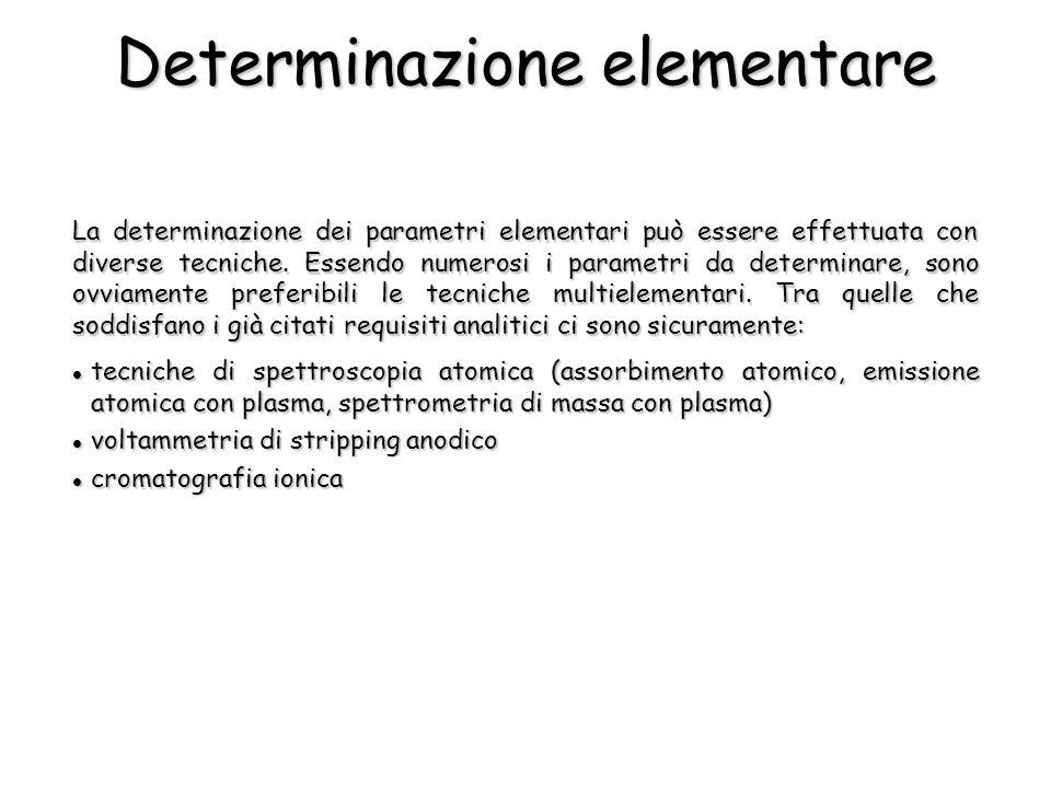 Determinazione elementare
