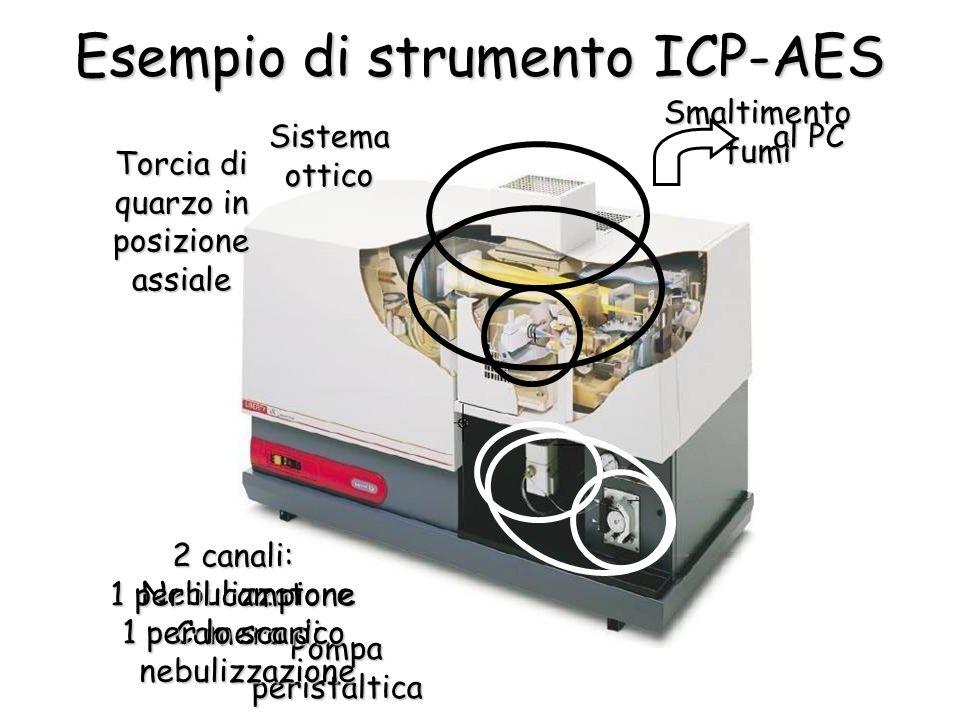 Esempio di strumento ICP-AES