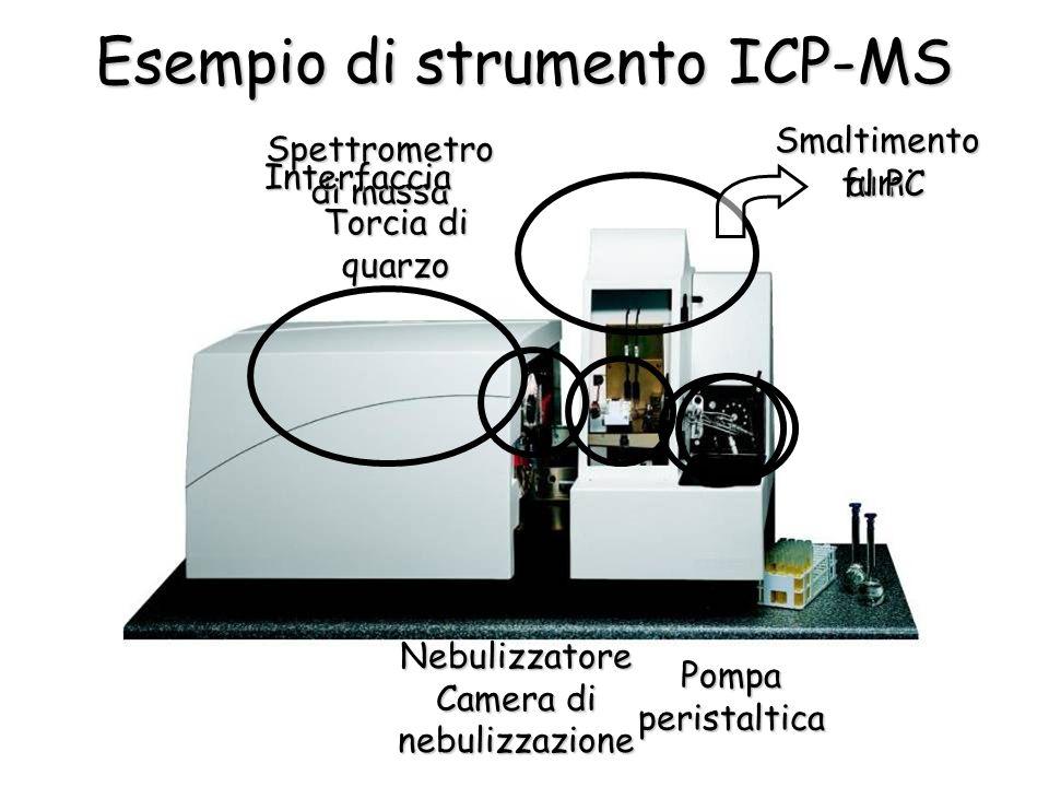 Esempio di strumento ICP-MS