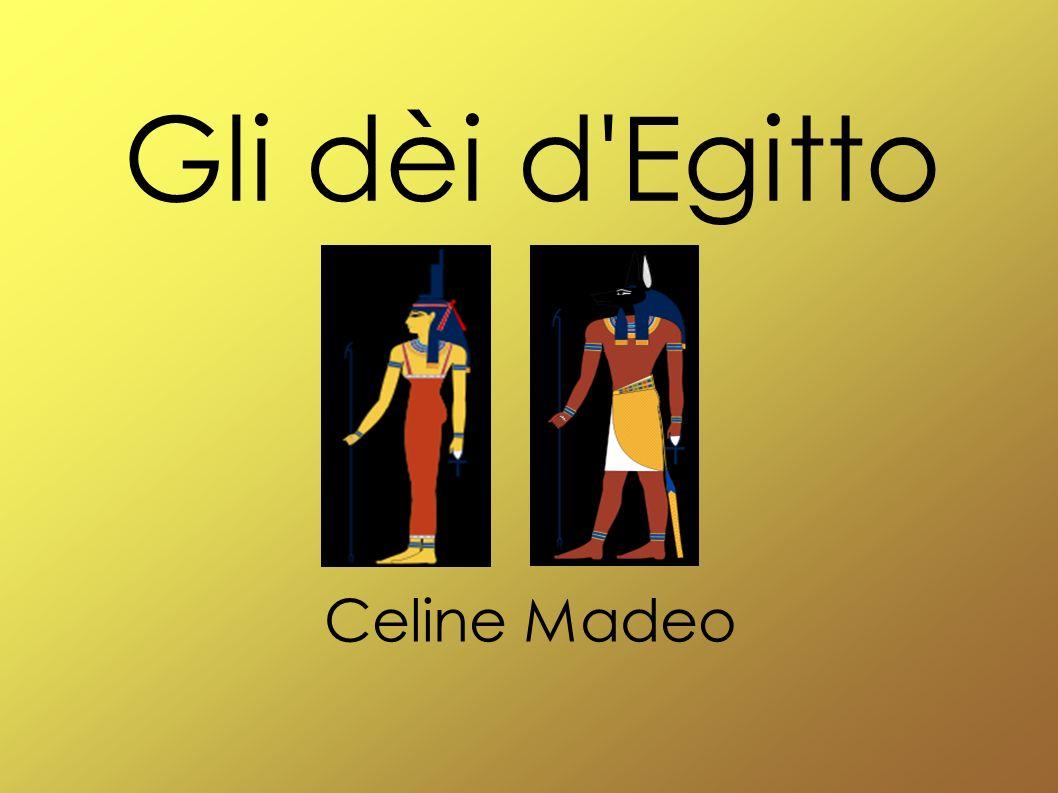 Gli dèi d Egitto Celine Madeo
