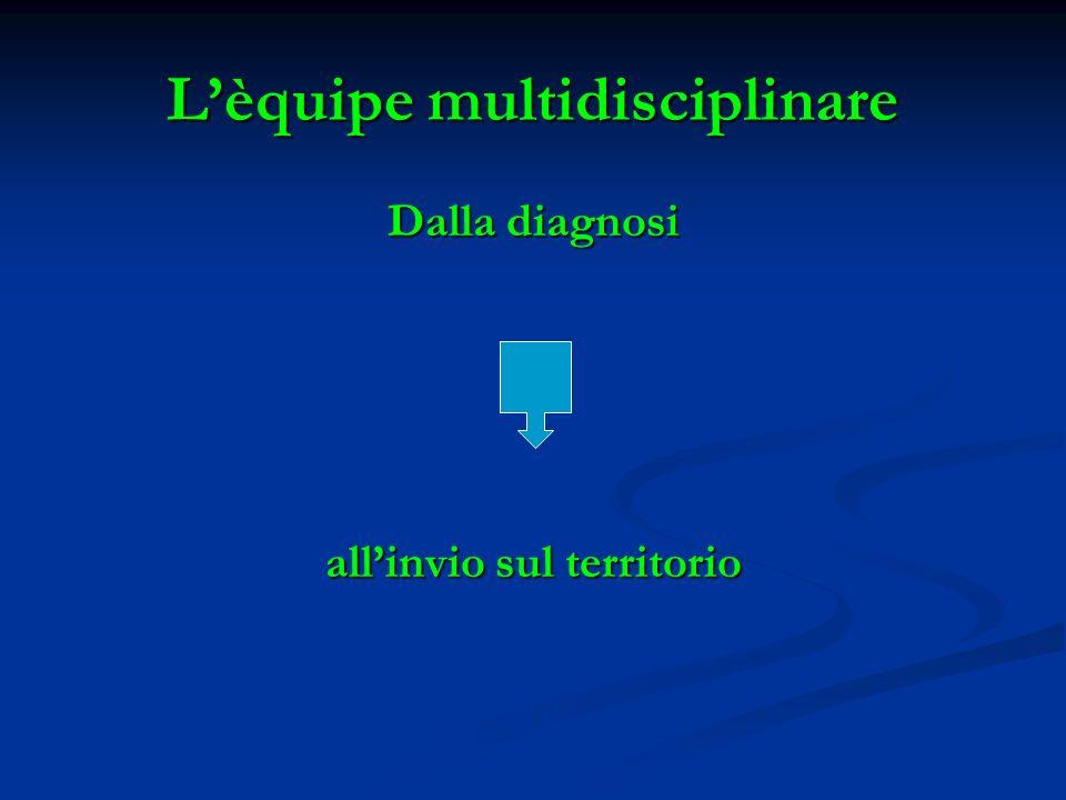 L'èquipe multidisciplinare