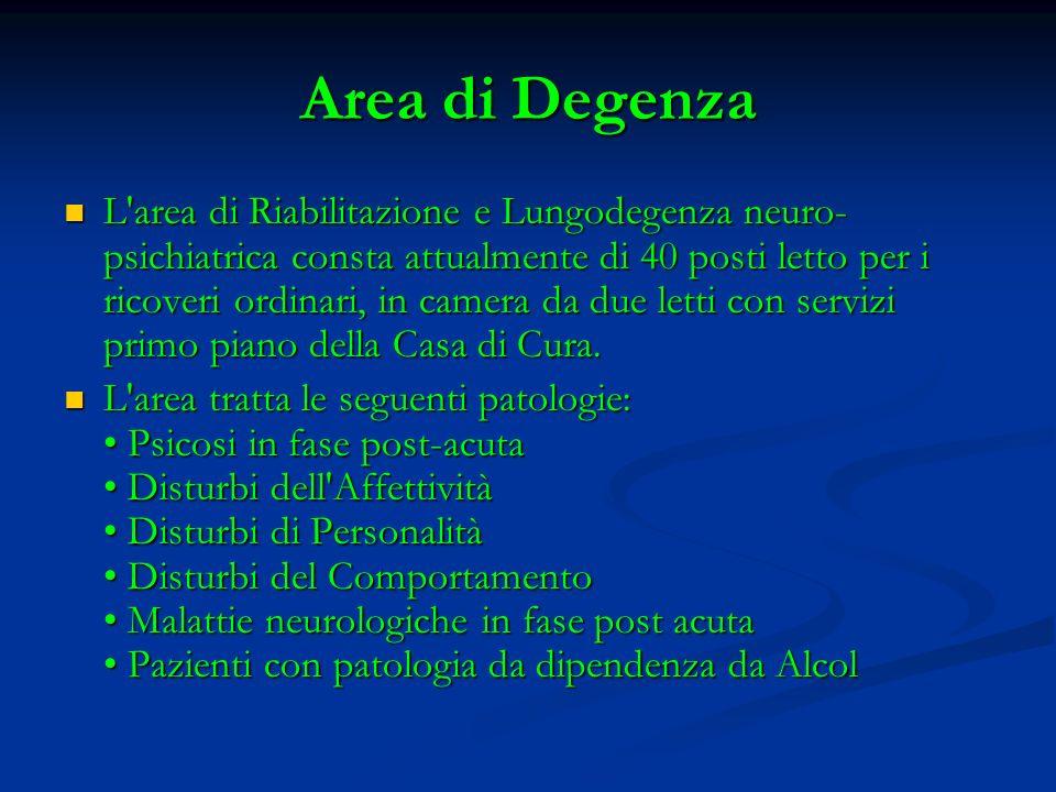 Area di Degenza