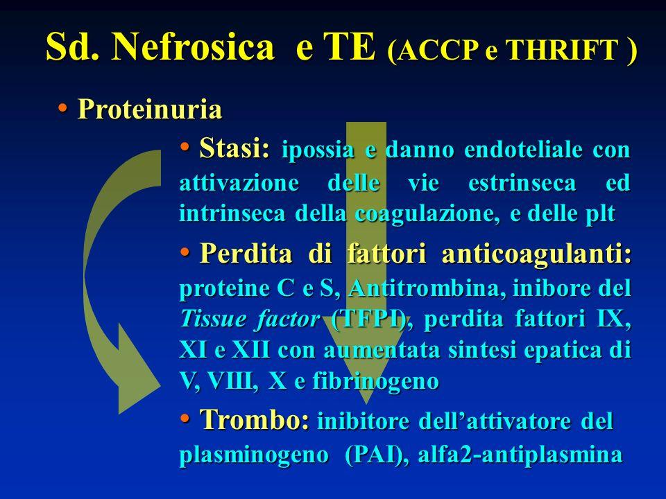 Sd. Nefrosica e TE (ACCP e THRIFT )