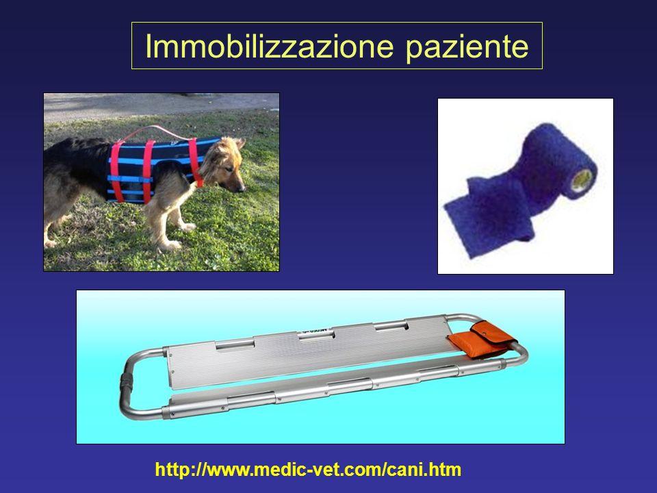 Immobilizzazione paziente
