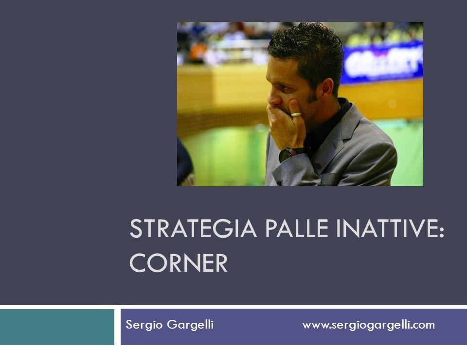 Strategia palle inattive: corner