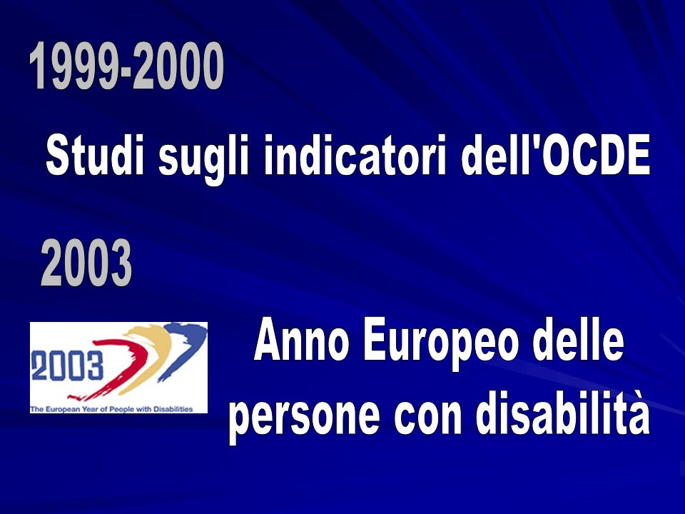 Studi sugli indicatori dell OCDE