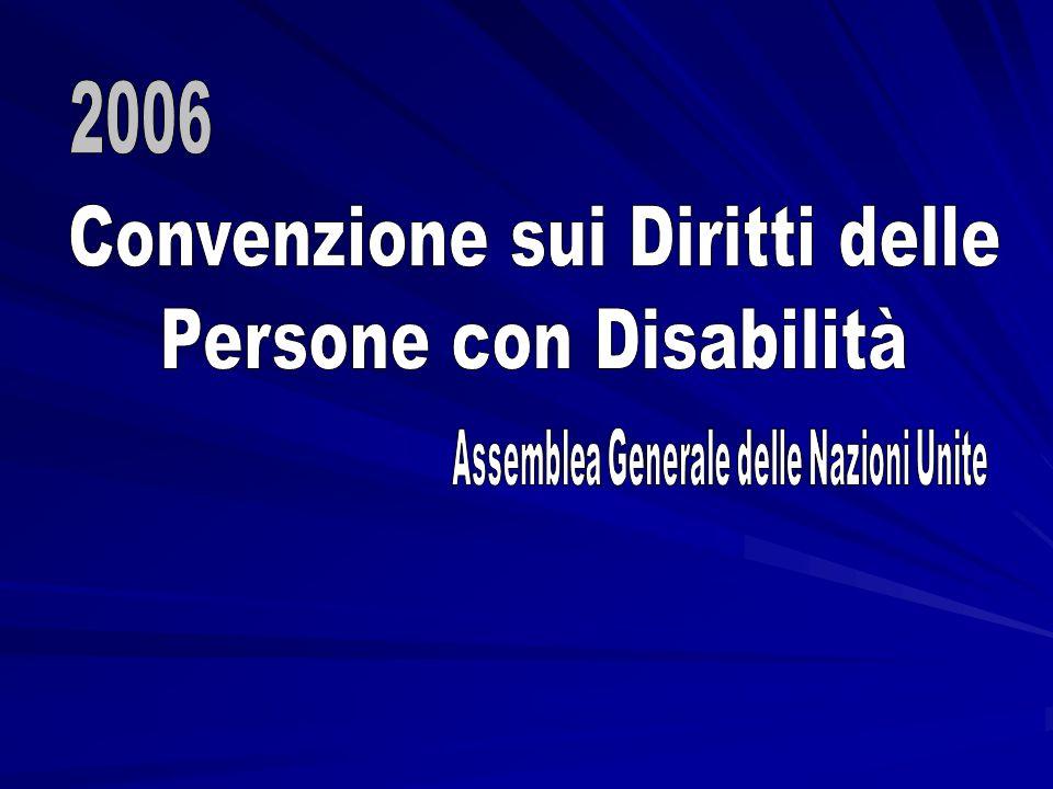 Convenzione sui Diritti delle Persone con Disabilità