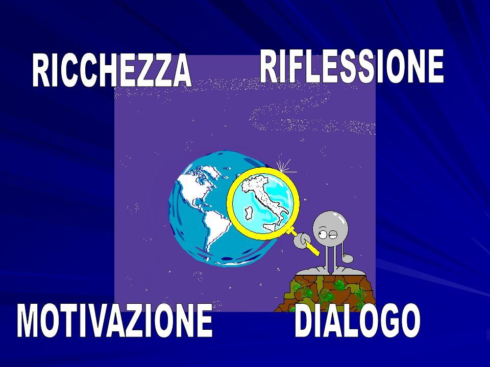 RIFLESSIONE RICCHEZZA MOTIVAZIONE DIALOGO