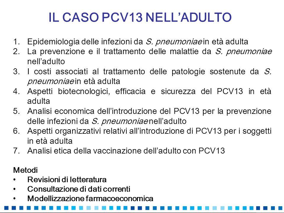 IL CASO PCV13 NELL'ADULTO