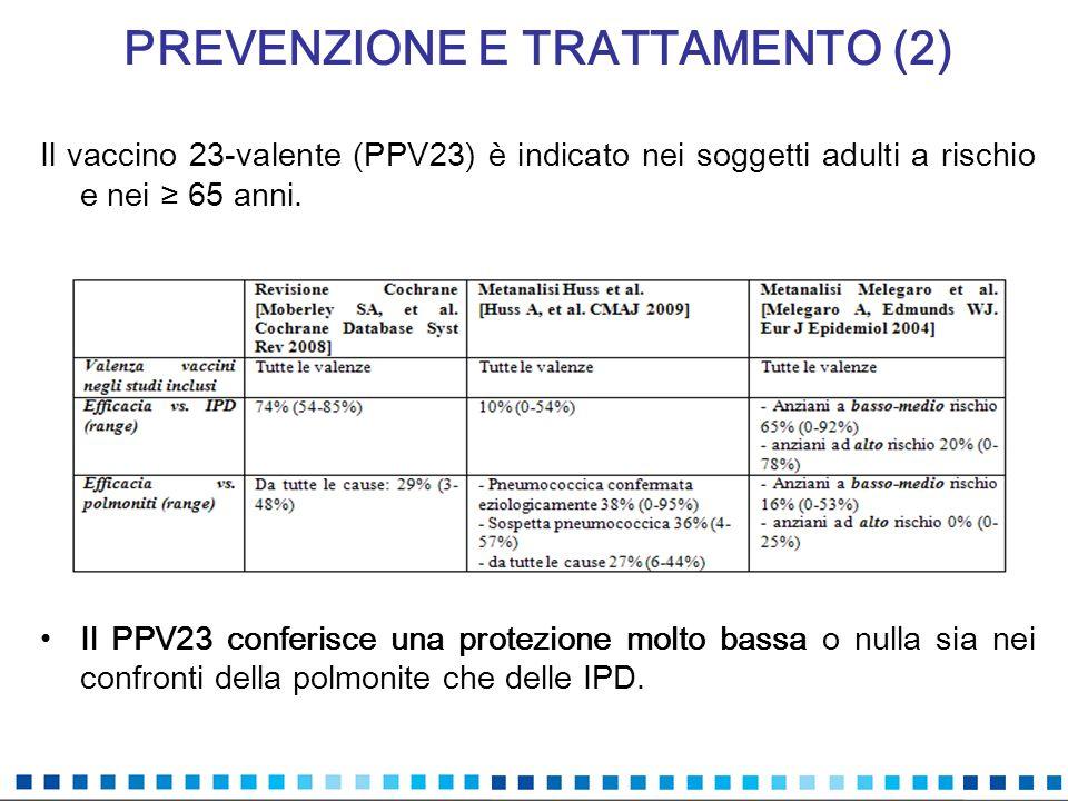 PREVENZIONE E TRATTAMENTO (2)