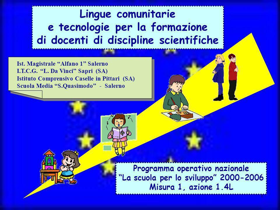 e tecnologie per la formazione di docenti di discipline scientifiche