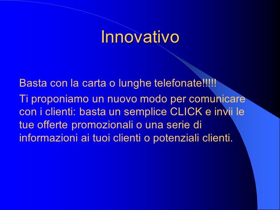Innovativo Basta con la carta o lunghe telefonate!!!!!