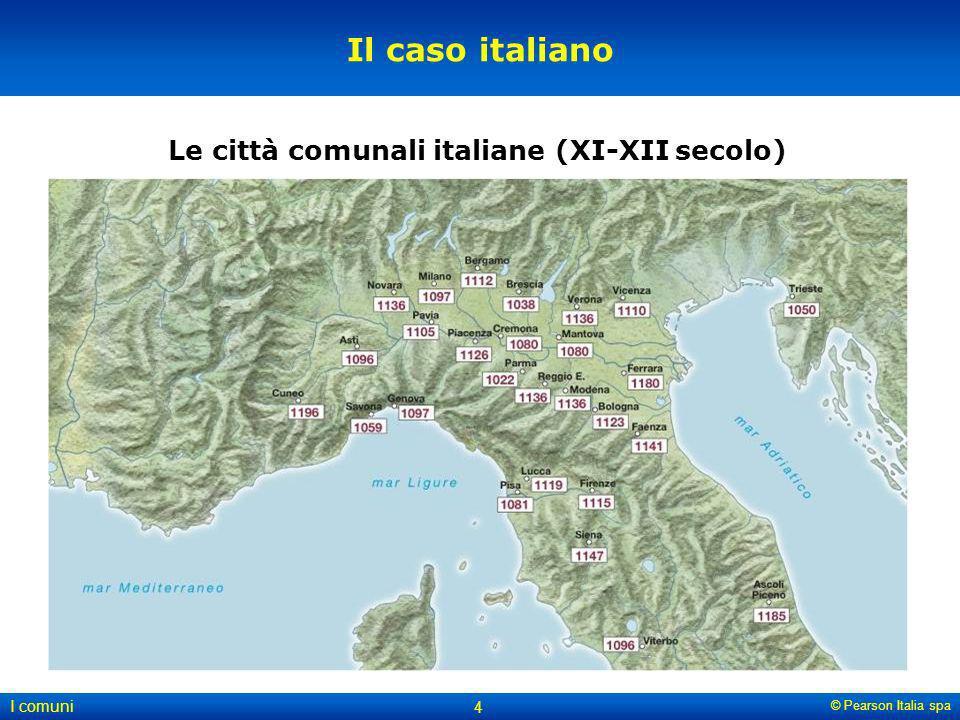 Le città comunali italiane (XI-XII secolo)