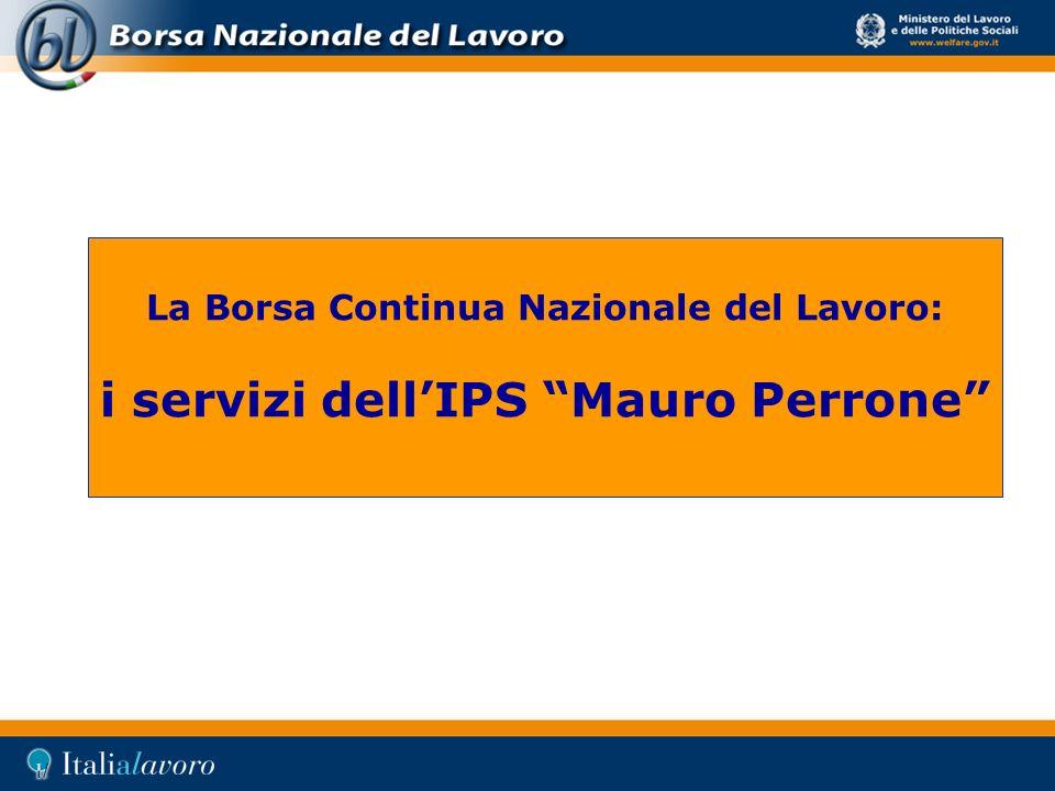 i servizi dell'IPS Mauro Perrone