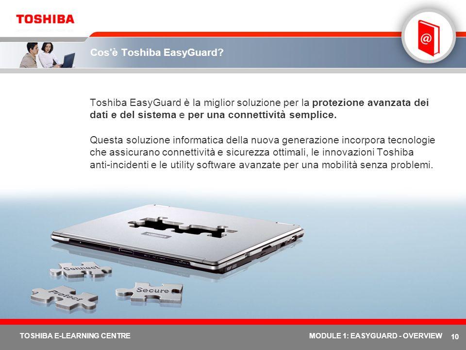 Cos è Toshiba EasyGuard