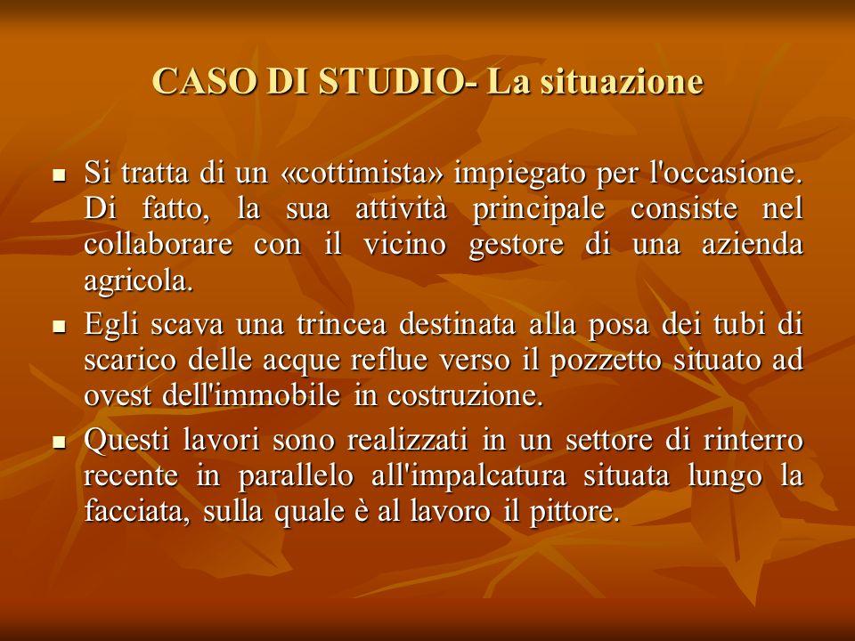 CASO DI STUDIO- La situazione