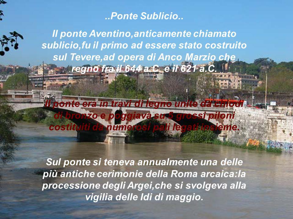 ..Ponte Sublicio..