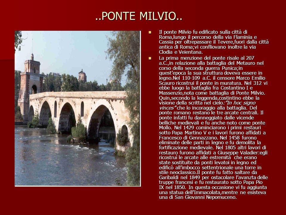 ..PONTE MILVIO..