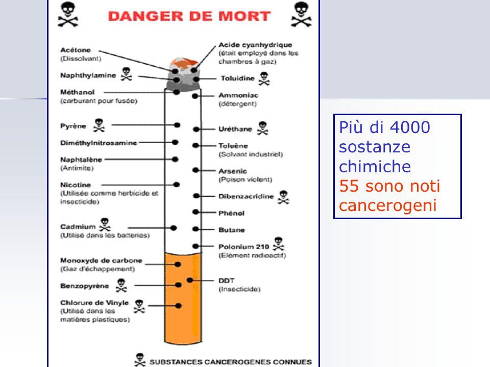 Più di 4000 sostanze chimiche